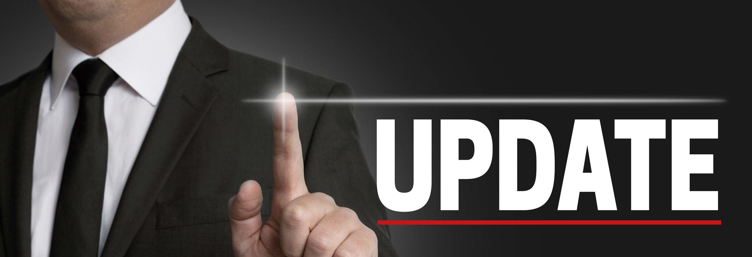 Update Service Joomla und Wordpress